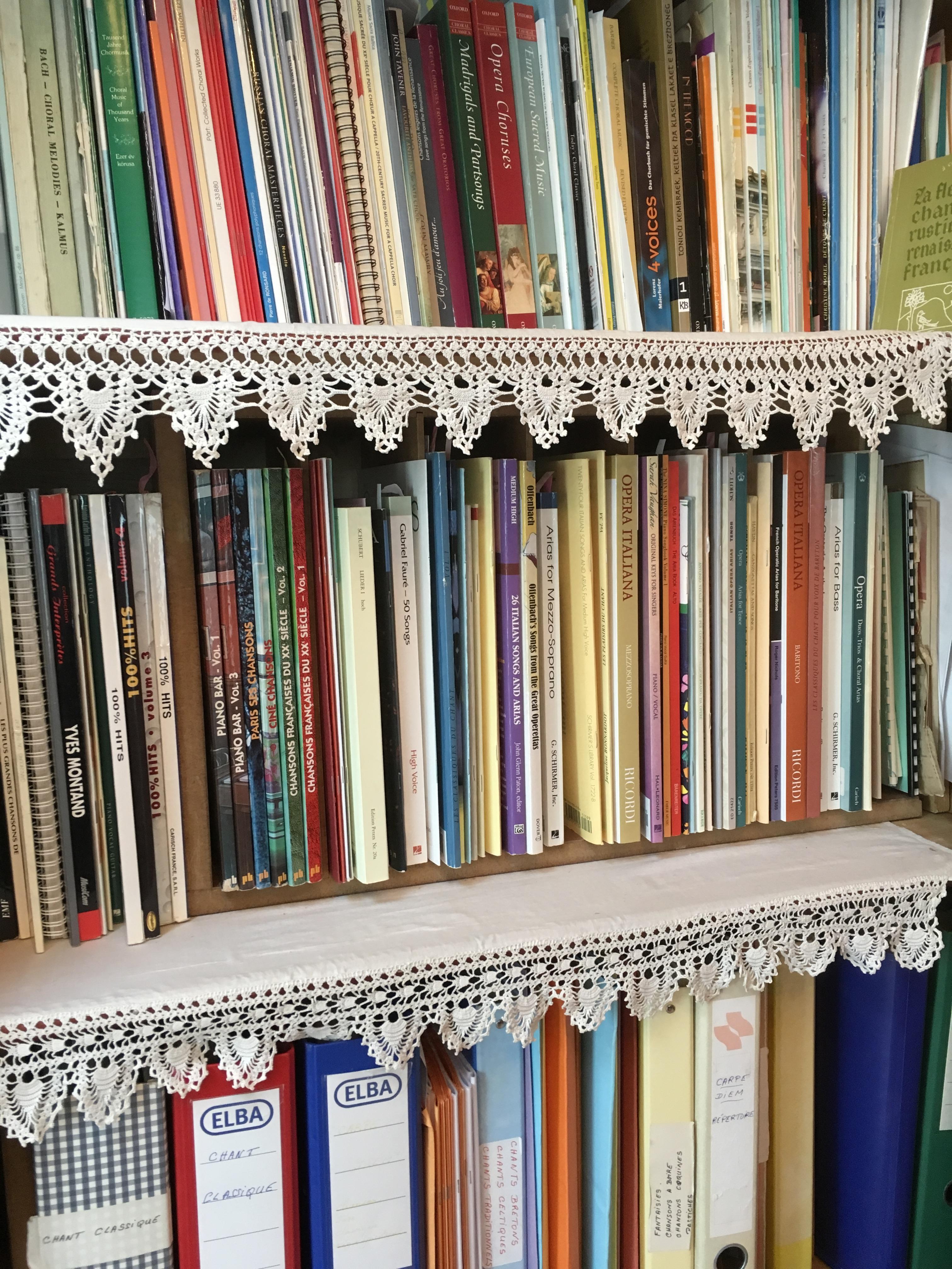 Biblotheque musicale : opera, chant et choeur