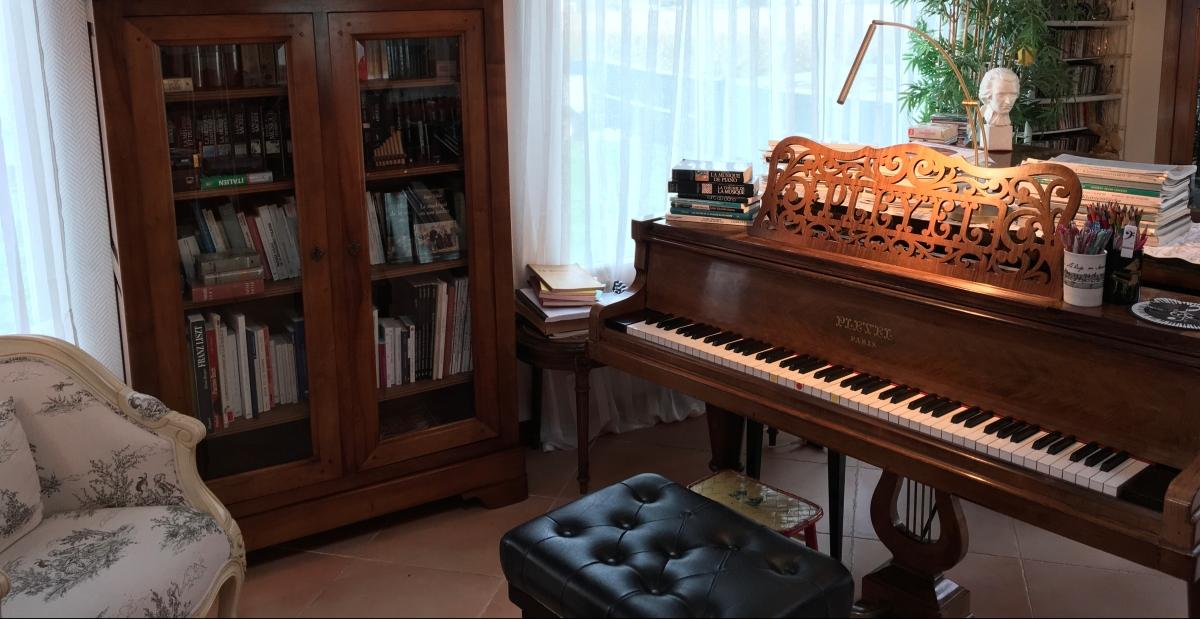 Cours sur piano à queue à Landunvez