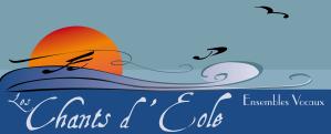 logo couleur : Les Chants d'Eole